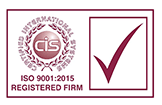 CIS ISO 9001:2015 Registered Firm