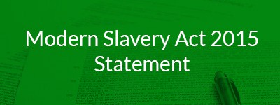 Modern Slavery Act 2015 Statement