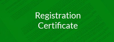 Registration Certificate AME